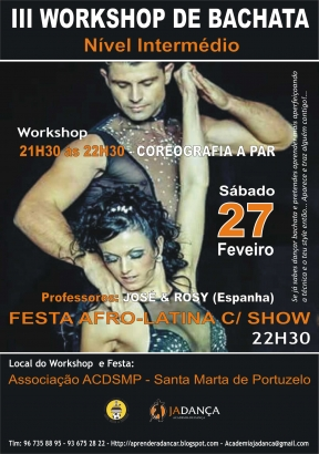 III Workshop de Bachata