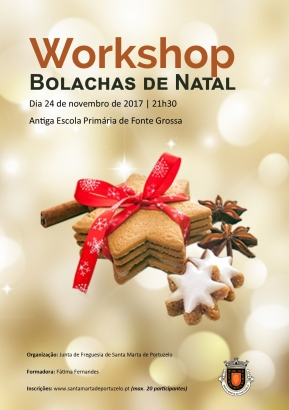 Workshop de Bolacha de Natal
