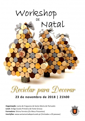 Reciclar para Decorar - Workshop